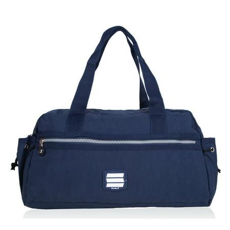 Small Duffle Gym Bag (Lightweight Small Duffle Weekend Handbag Luggage Gym Sports Travel Duffel Tote)