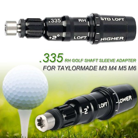M3 M4 M5 M6 Golf Shaft Adapter Sleeve .335 Tip for Driver Fairway RH Fits For TaylorMade