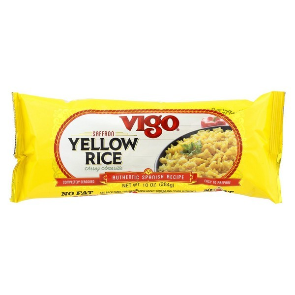 Vigo Yellow Rice - pack of 12 - 10 Oz.