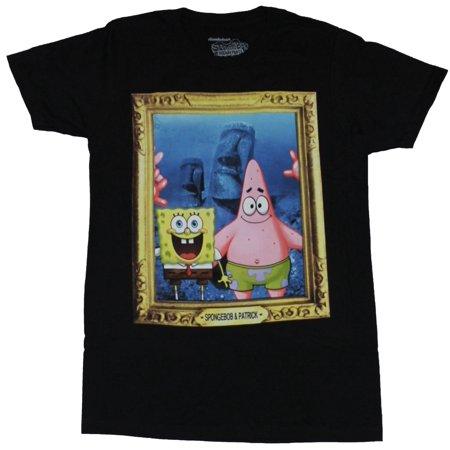 Spongebob Squarepants Pjs (SpongeBob Squarepants Mens T-Shirt  - Framed SpongeBob & Patrick)