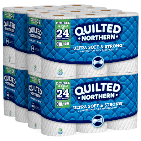 Quilted Northern Ultra Soft & Strong Toilet Paper, 48 Double Rolls