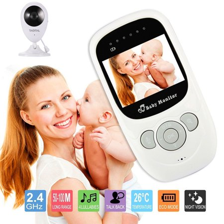 Lcd Wireless Baby Monitor - Tagital Baby Monitor with 2.4