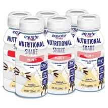 Protein & Meal Replacement: Equate Plus Nutritional Shakes
