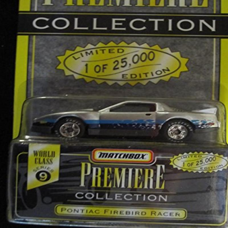 Matchbox Premiere Pontiac Firebird Racer Series 9 (34312) Color Silver