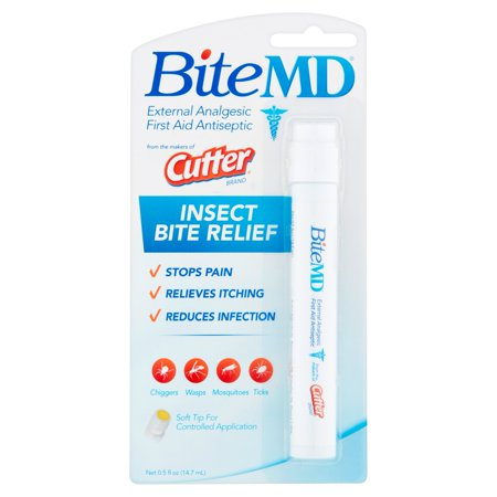 Cutter Bite Md Insect Bite Relief  0 5 Fl Oz