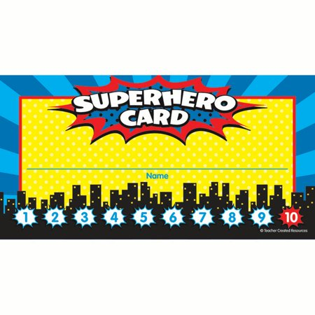 SUPERHERO PUNCH CARDS](Hero Punch)