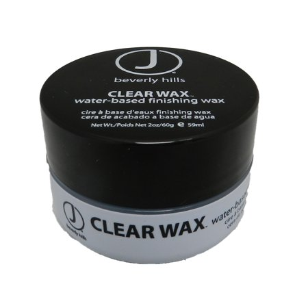 Based Wax - J Beverly Hills Clear Wax Water Based Finishing Wax 2 Ounce