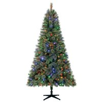 product image holiday time 75ft pre lit liberty cashmere pine quick set artificial christmas tree with - Small Pre Lit Christmas Trees
