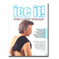 Battle Creek Equipment Ice It Deluxe Wrap Therapeutic System Cover And Strap, 6 X 9 Inches - 1