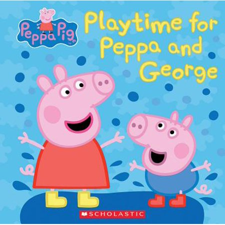 Play Time for Peppa and George (Peppa Pig) - George Pigs Dinosaur
