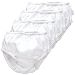 iPlay Ultimate Swim Diaper - White, 4 Pack (24 Months)