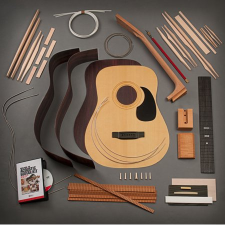 Rosewood Dreadnought (StewMac Build Your Own Dreadnought Acoustic Guitar Kit, Dovetail Neck, Torrefied Top, Indian Rosewood Back &)
