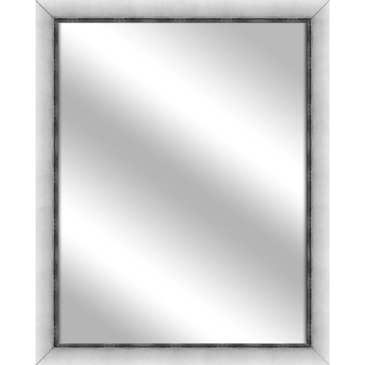 Vanity Mirror, Stainless Silver, 24.75x30.75 by PTM Images