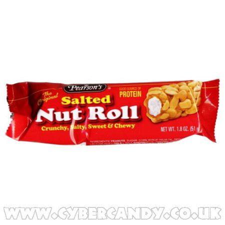 288 PACKS : Pearson Salted Nut Roll Caramel 1.8 Oz
