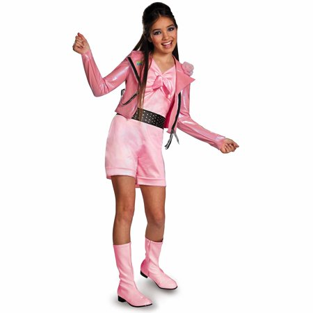 Lela Biker Deluxe Child Halloween - Biker Babe Costume Halloween