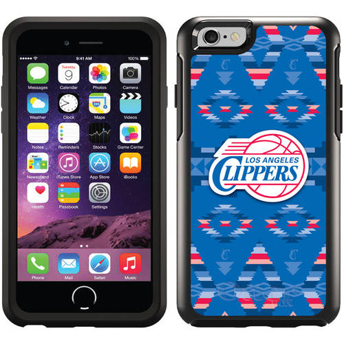 L.A. Clippers Tribal Print Design on OtterBox Symmetry Series Case for Apple iPhone 6
