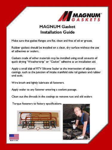 Engine Valve Cover Gasket Set-Maxdry SS Magnum Gaskets vs25092
