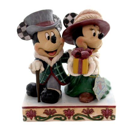 Jim Shore ELEGANT EXCURSION Polyresin Mickey Minnie