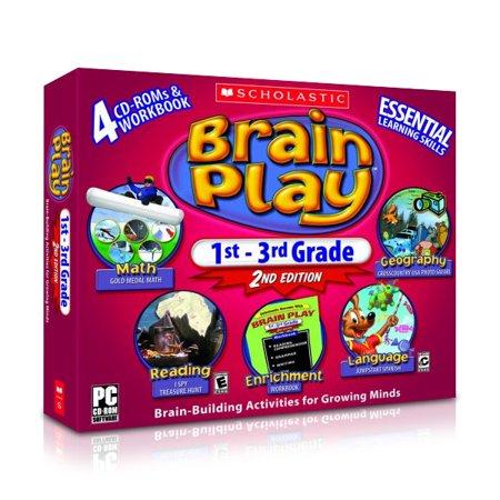 Scholastic Brain Play 1st 3rd Grade Xsdp 52073 With Scholastic