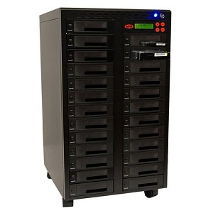 "SySTOR 1:24 SATA 2.5""&3.5"" Dual Port Hard Disk Drive (HDD SSD) Duplicator Sanitizer -High Speed... by Systor"