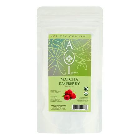 Aoi Tea Company Matcha organique framboise, 200 g