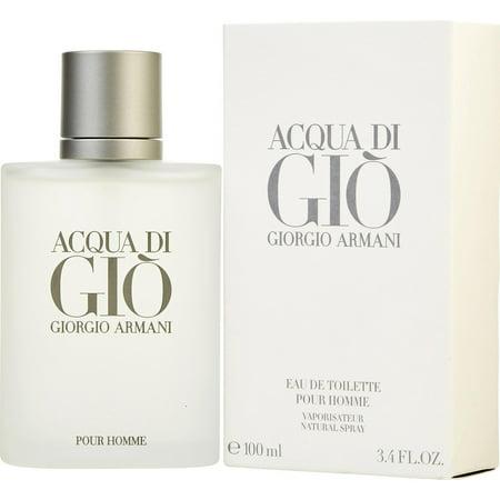 Best Giorgio Armani Acqua Di Gio Eau De Toilette for Men, 3.4 Oz deal