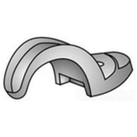 Oz/Gedney 14-75G duct iron 3/4 1hole strap rigid