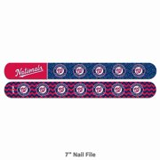High quality team color, and logo, MLB Nail File.-