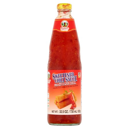 (2 Pack) Pantai Norasingh Sweetened Chili Sauce for Spring Roll, 32.5