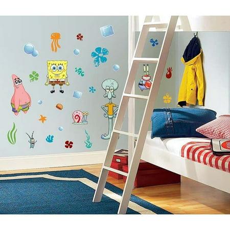 Spongebob Squarepants Decor - 45 New SPONGEBOB SQUAREPANTS WALL DECALS Kids Bedroom Stickers
