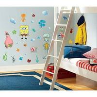 45 New SPONGEBOB SQUAREPANTS WALL DECALS Kids Bedroom Stickers