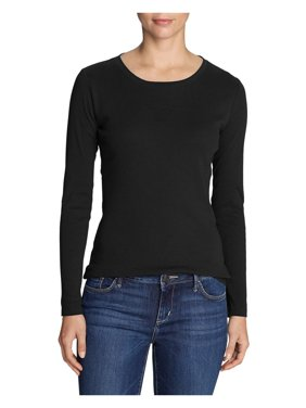 c2f92cc16937 Product Image Eddie Bauer Women's Favorite Long-Sleeve Crewneck T-Shirt