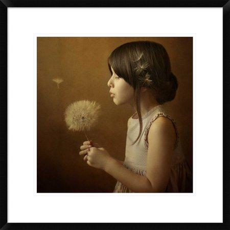 Global Gallery A Dandelion Poem By Svetlana Bekyarova Framed Photographic Print