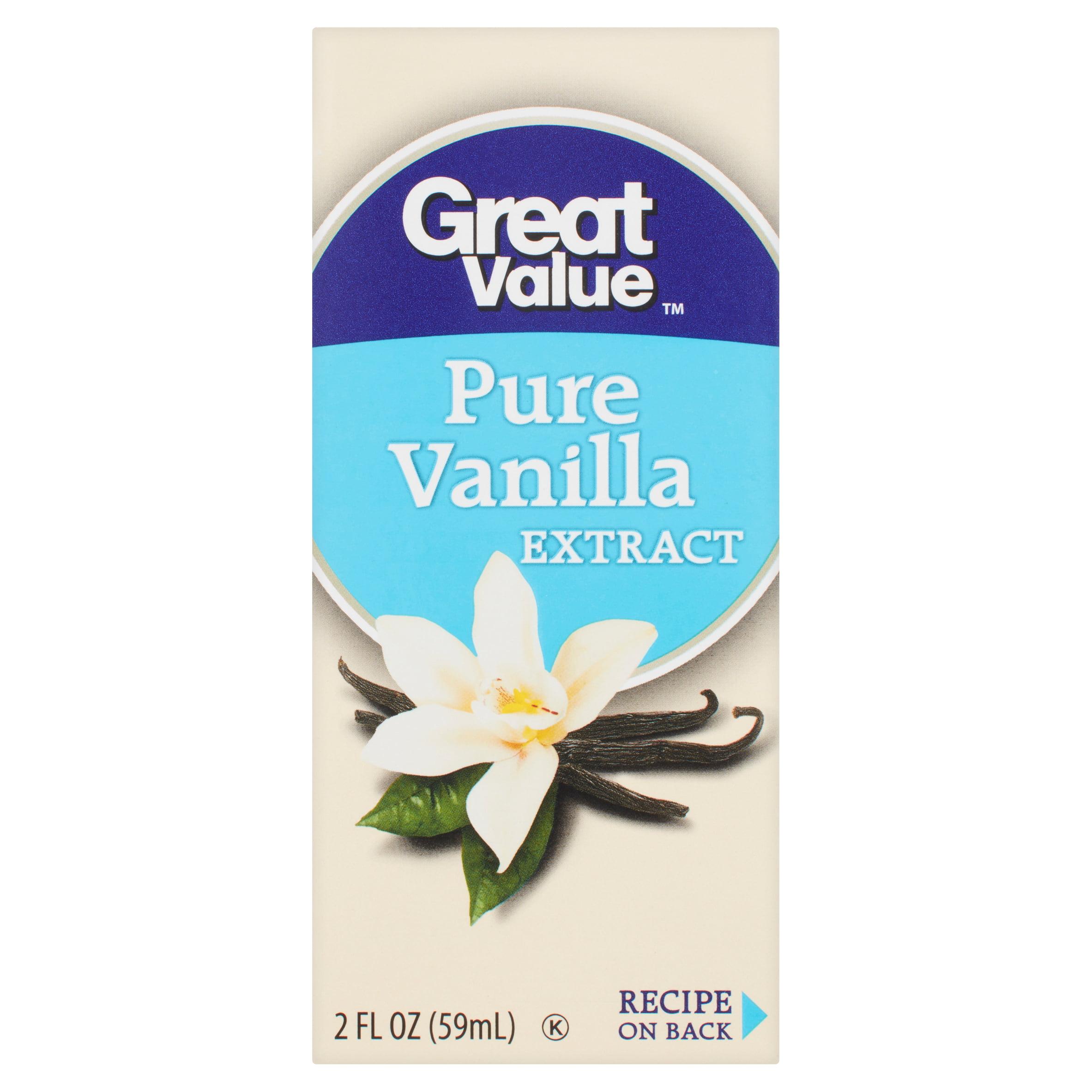 Great Value Pure Vanilla Extract, 2 fl oz - Walmart com