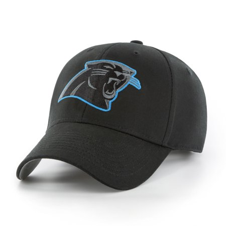 NFL Carolina Panthers Black Mass Basic Adjustable Cap/Hat by Fan Favorite