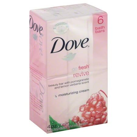 Dove go fresh Pomegranate and Lemon Verbena Beauty Bar 4 oz, 6 Bar - Homemade Lemon Bars