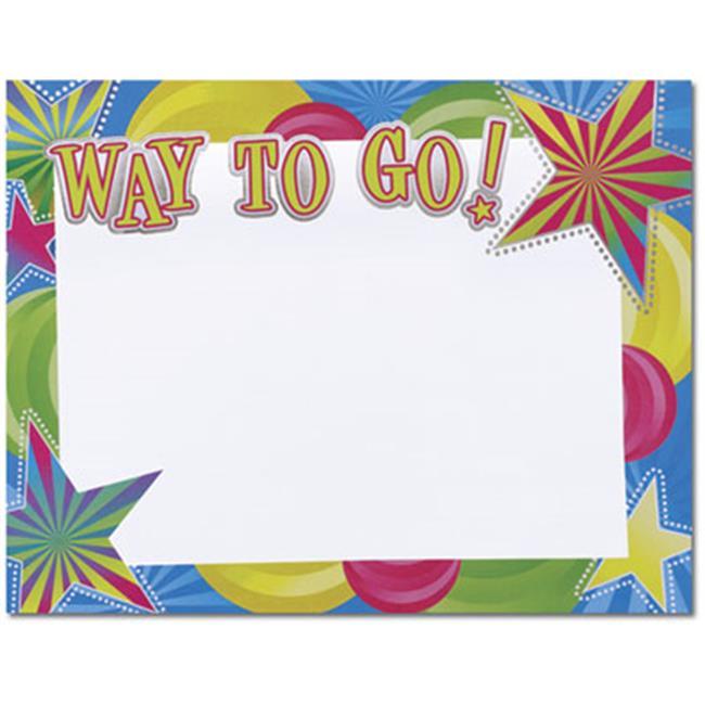 Way To Go Cert, 15