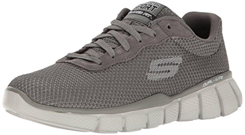 51539 CHAR Charcoal Skechers Shoe New Men Mesh Sport Memory Foam Comfort Sneaker by Skechers