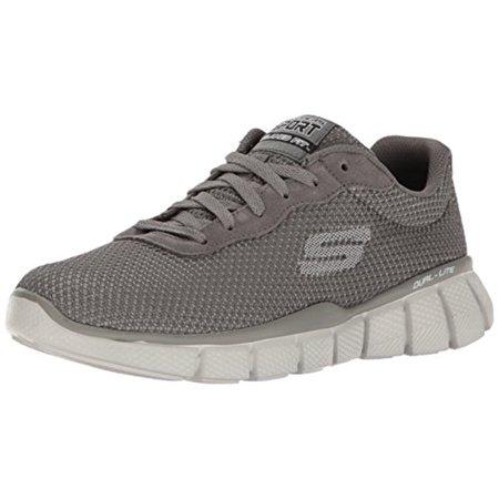 51539 CHAR Charcoal Skechers Shoe New Men Mesh Sport Memory Foam Comfort Sneaker