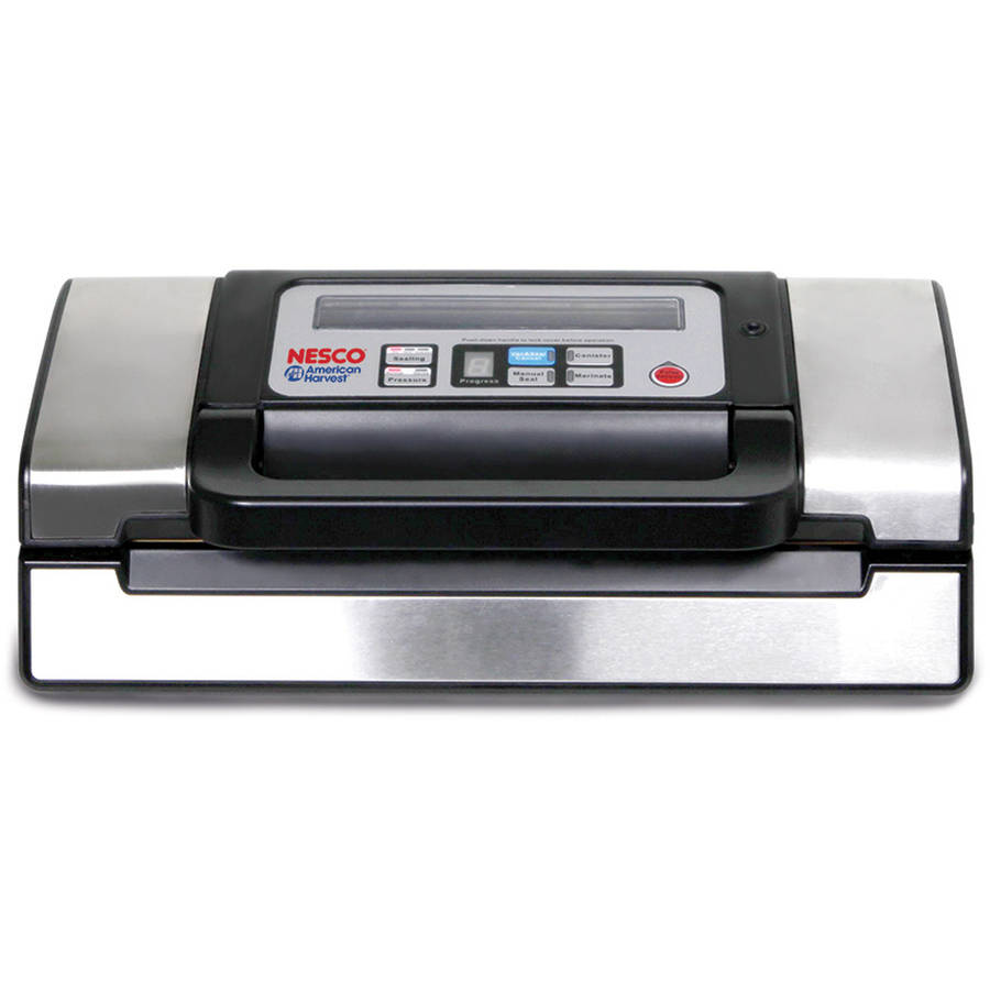 nescou0027s deluxe vacuum food sealer 130watts