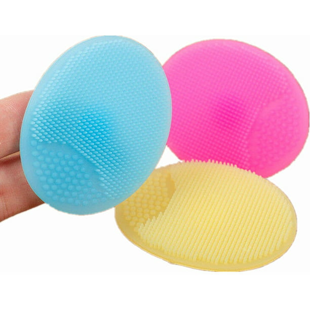 Silicone Facial Cleansing Brush Pad Face Scrubbers Exfoliator