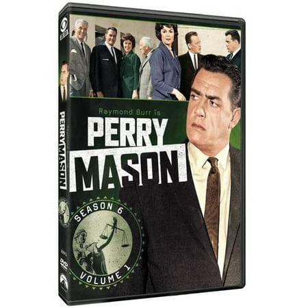 Perry Mason: Season 6, Vol. 1 (Full Frame)