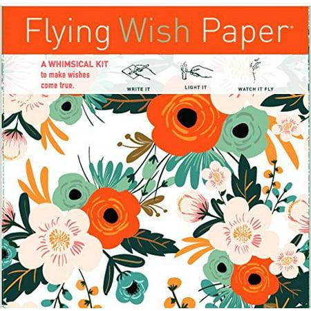 Unicorn Merchandise (Flying Wish Paper - Write it., Light it, & Watch it Fly - ORANGE BLOSSOMS - 5