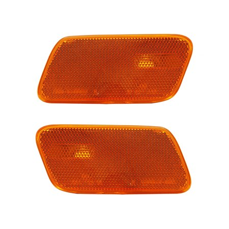 NEW PAIR OF SIDE MARKER LIGHTS FITS MERCEDES BENZ E320 SEDAN 00-02 210-820-13-21