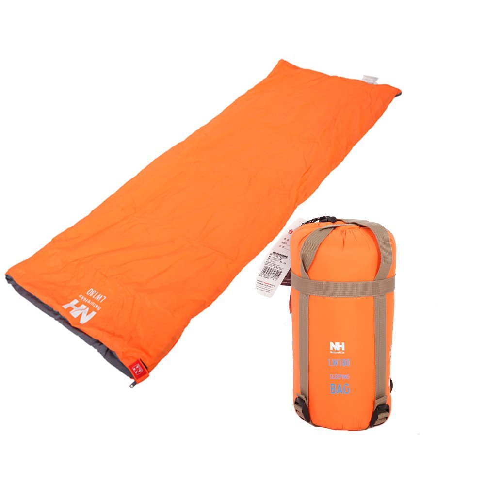 Ktaxon Lightweight Outdoor Camping Envelope Sleeping Bag with Compression Sack by
