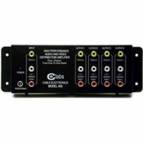 C2G 4-Output RCA Audio/Video Distribution Amplifier