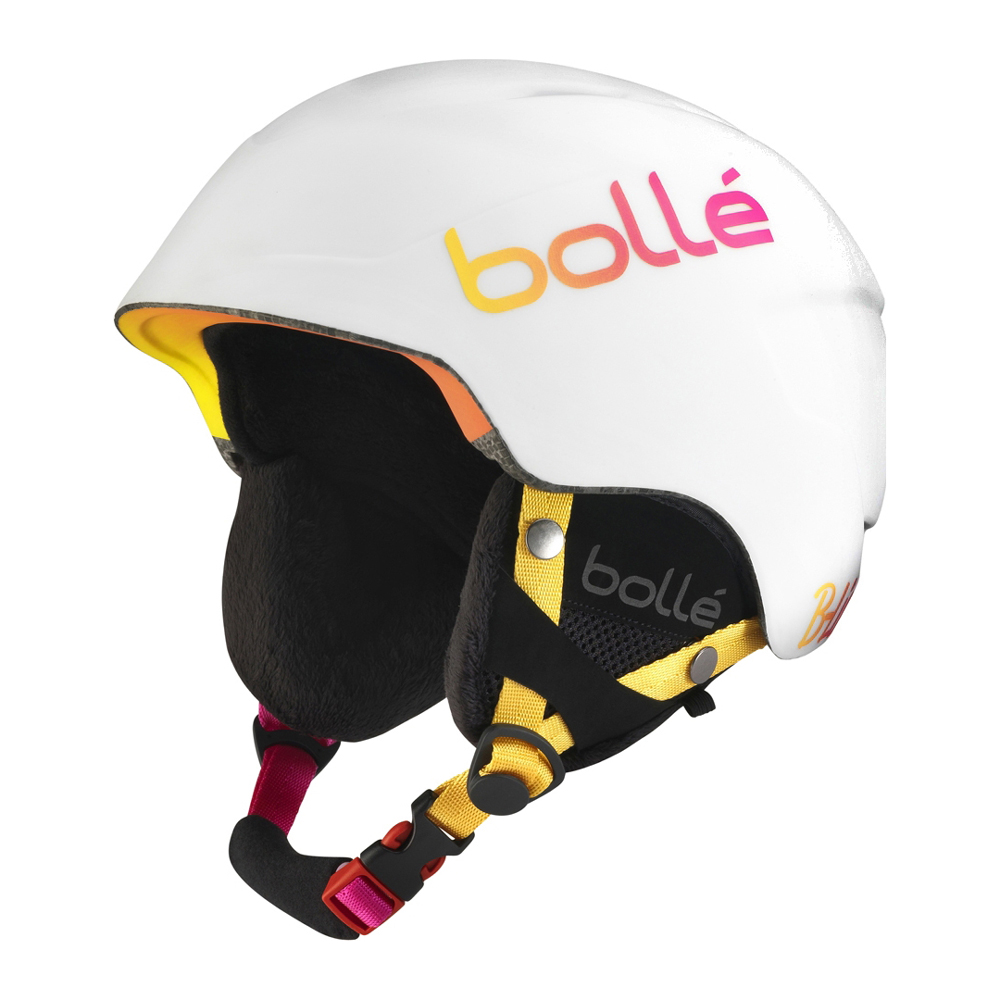 *Bolle Helmets 30988 Soft White and Pink 51-53cm B-Lieve by Bolle