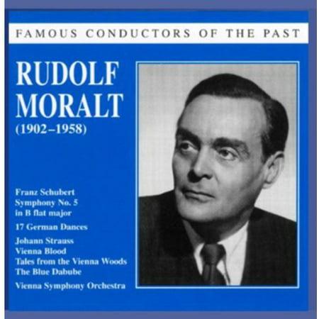 Schubert/Strauss - Famous Conductors of the Past: Rudolf Moralt [CD]