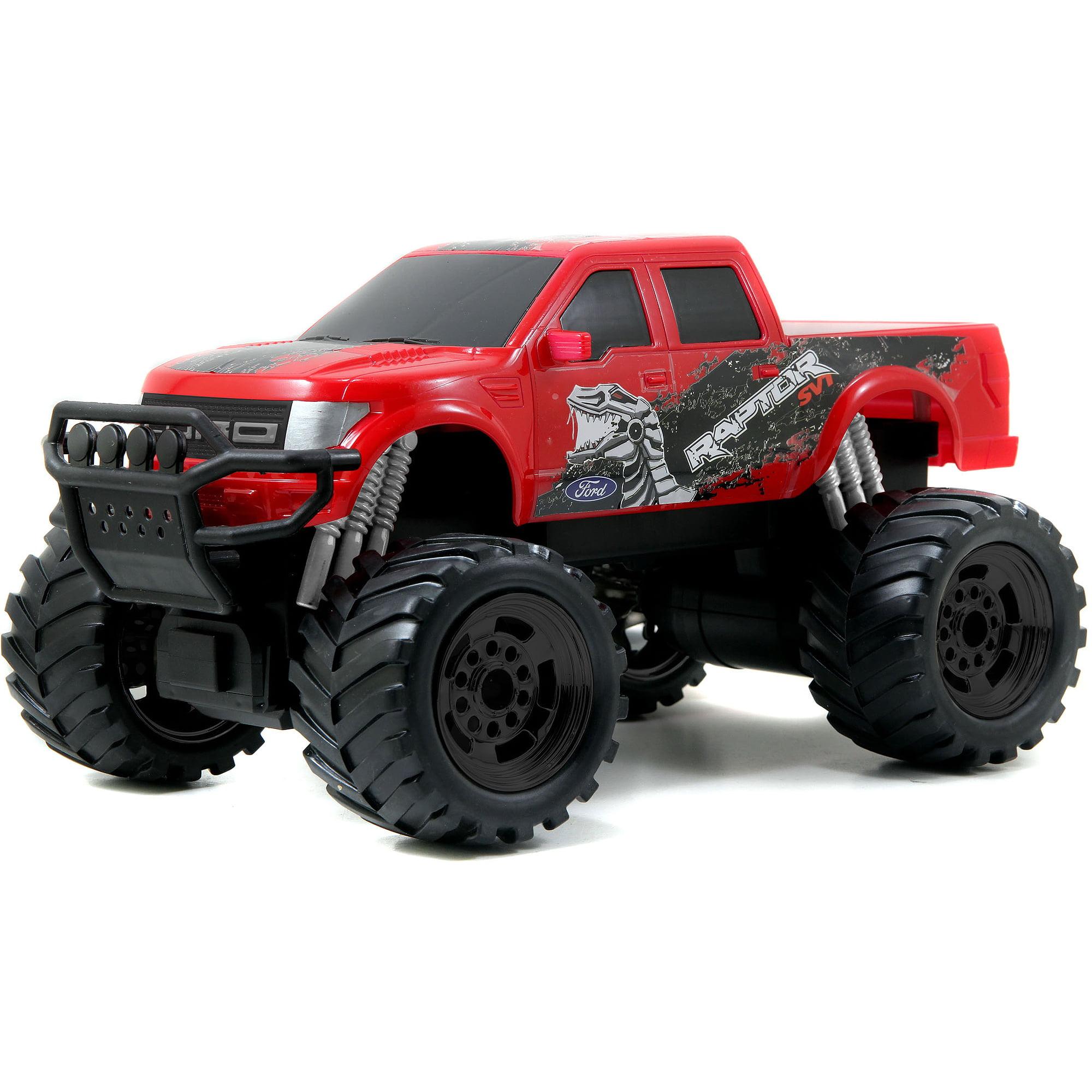 Jada Toys HyperChargers 1:16 Just Trucks Remote Control, 2014 Ford F-150 SVT Raptor