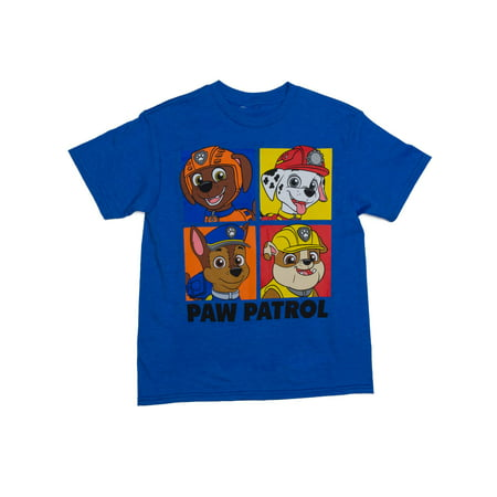 Four Box Short Sleeve Crew Neck Tee Shirt (Little Boys & Big Boys)